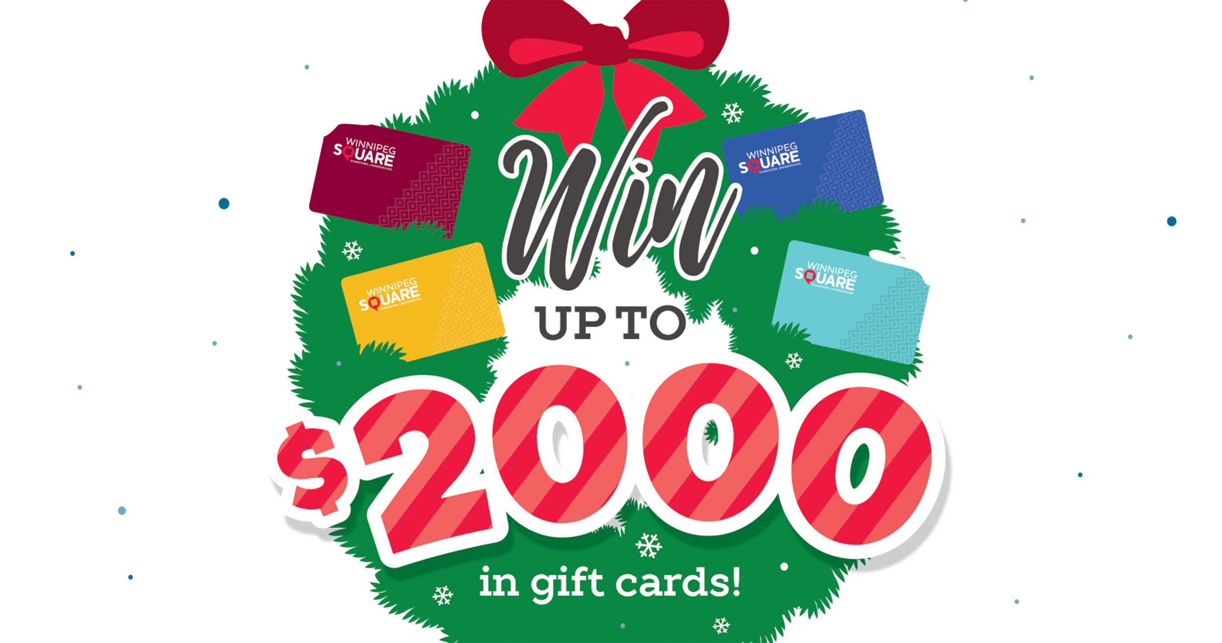 Win up to $2000 in gift cards!